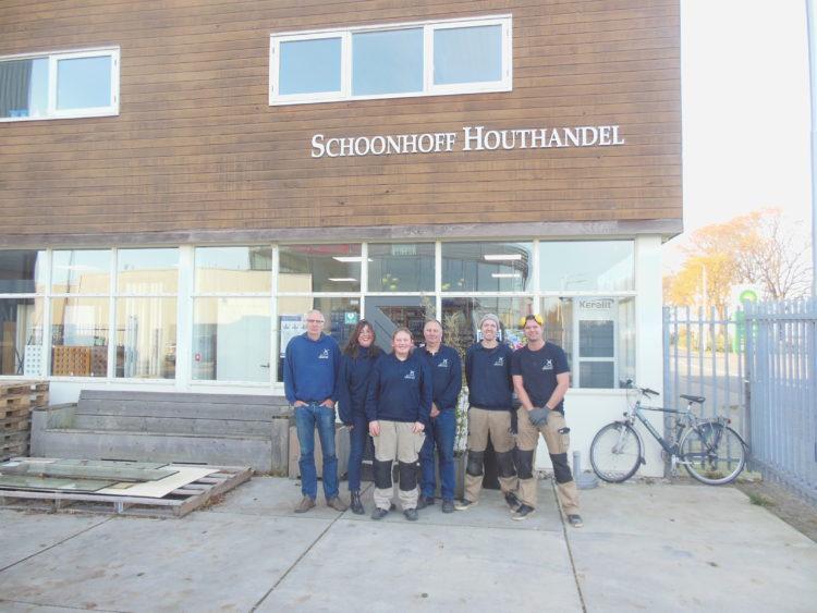 Team Medewerkers Schoonhoff Houthandel Zagerij Schaverij