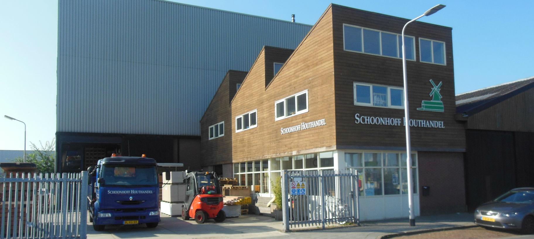 Schoonhoff Hout Houtbedrijf IJmuiden